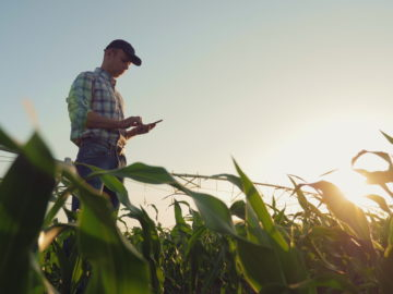 Farmer Reducing Operating Costs
