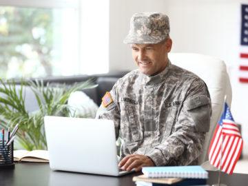 Military applying for loan